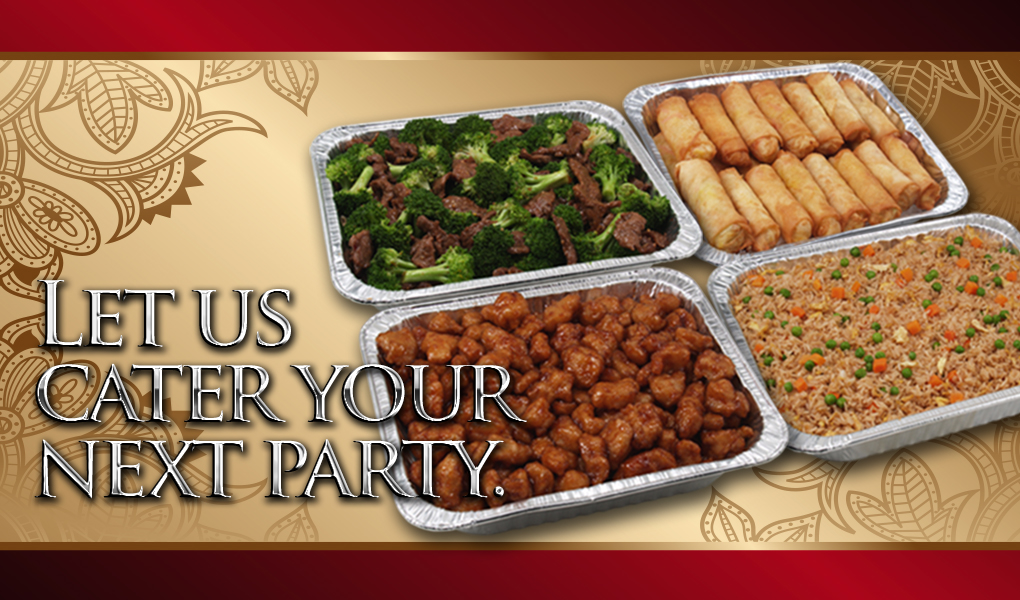 the palace website party tray banner
