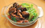 Black Mushroom w: Mustard Green