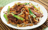 Dry Style Beef Chow Fun