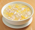 Minced Chicken Cream Corn Soup