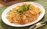 Pan Fried Rice Vermicelli Singapore Style