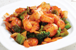 Shrimp w: Spicy Garlic Sauce