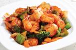 Shrimp w: Spicy Garlic Sauce