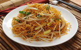 Soy Sauce Chow Mein or Chow Fun