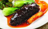 Stew Whole Sea Cucumber w: Abalone Sauce
